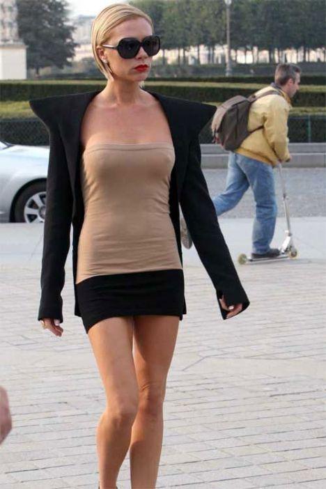 Spice Girls grubunun üyesi ve futbolcu David Beckham'ın eşi Victoria Beckham